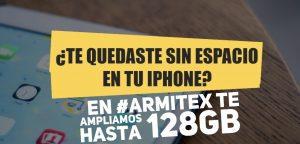 Ampliar memoria iPhone