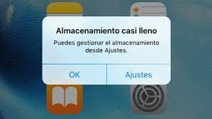 aumentar o ampliar memoria interna de iPhone